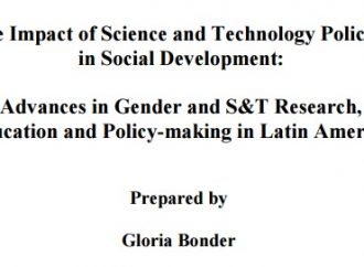 The Impact of Science and Technology Policies in Social Development: Advances in Gender and S&T Research, Education and Policy-making in Latin America