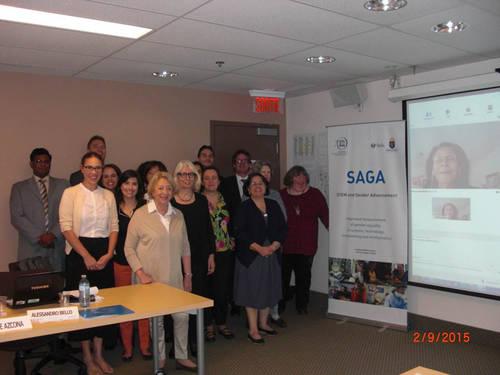 Primera reunión del Consejo Asesor de SAGA/UNESCO