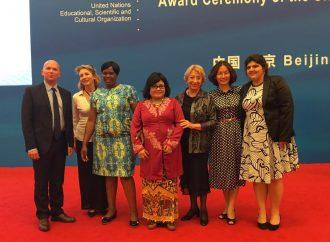 Entrega de Premios UNESCO de educación de las niñas y las mujeres