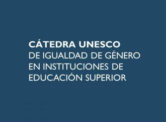 Nueva incorporación a la Red Global de Cátedras UNESCO en género