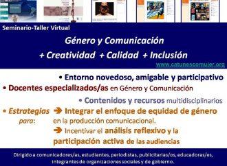 Recursos creativos para desarrollar una visión de género en el ámbito de la comunicación y las tecnologías de información