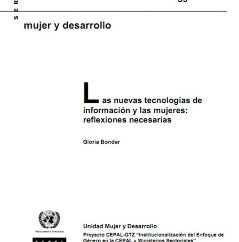 Las nuevas tecnologías de información y comunicación: reflexiones necesarias