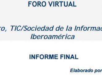 Foro Virtual: Género, TIC/Sociedad de la Información en Iberoamérica