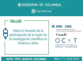 Participación de la mujer en la investigación en América Latina