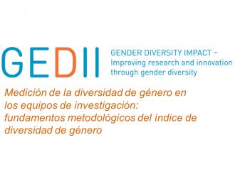 Medición de la diversidad de género en los equipos de investigación: fundamentos metodológicos del índice de diversidad de género.