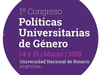 Marzo 2019: 1º Congreso Políticas Universitarias de Género, Argentina